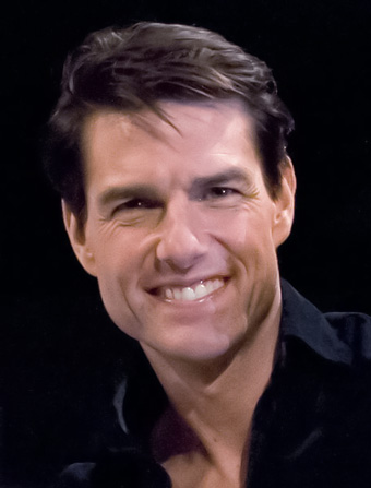 Tom Cruise grew up and succeeded despite poverty, frequent relocations